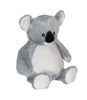 Koala peluche avec broderie