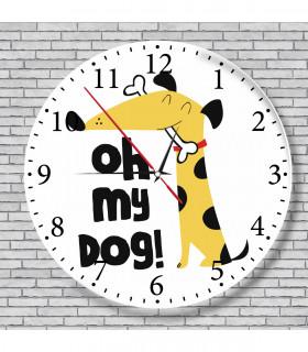 Horloge fun chien