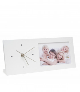 Horloge photo intégrée