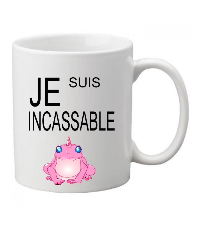 Mug incassable personnalisable
