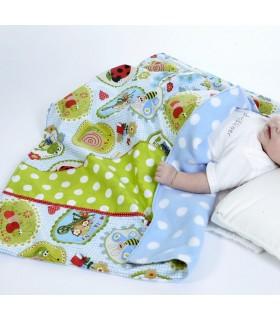 couverture pour lit de bébé