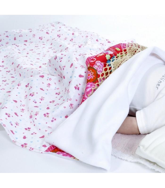 cadeau de naissance, couverture pour bébé
