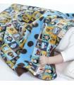 couverture pour bébé design et colorée