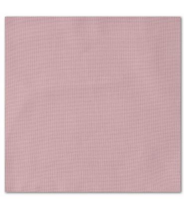 serviette de table brodée rose pale