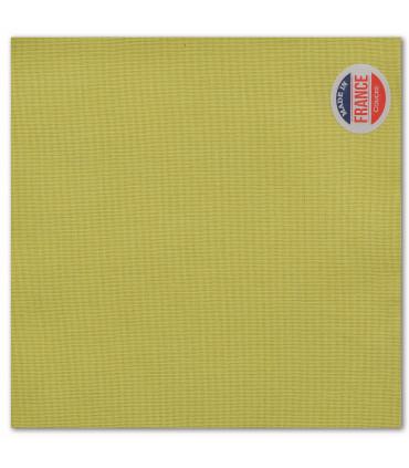 serviette de table brodée kiwi