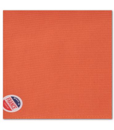serviette de table brodée orange special