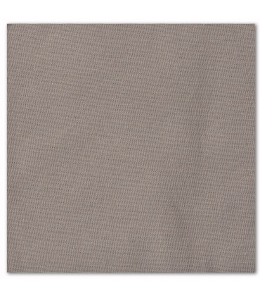 serviette de table brodée grise