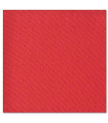 serviette de table brodée rouge normal