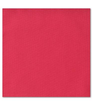 serviette de table brodéer rouge pale
