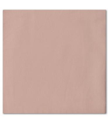 serviette de table brodée beige