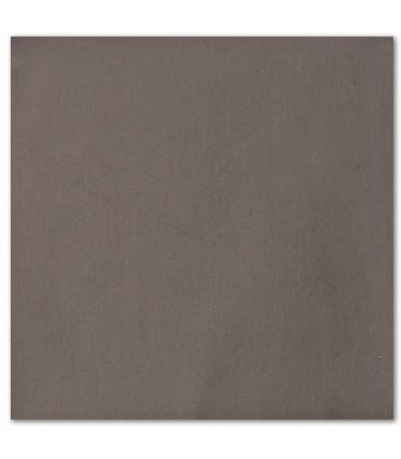 serviette de table brodée gris fonce