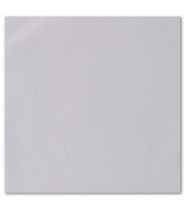 serviette de table brodée blanc