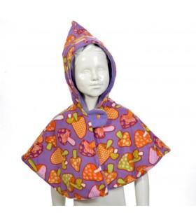 création originale et design d'un poncho pour bébé
