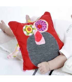 doudou coussin pour un bébé original