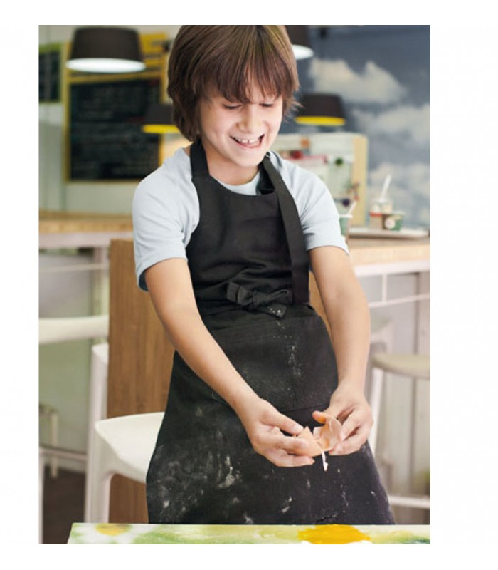 un tablier de cuisine ou travail brodé pour les enfants