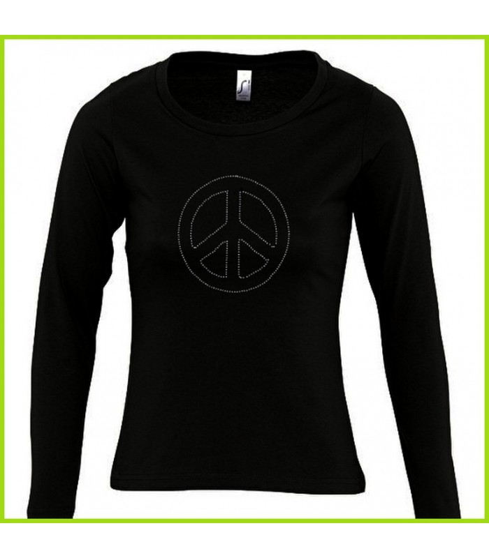 Tee Shirt Peace And Love